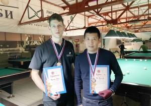 Команда Института выступила на межвузовском чемпионате по бильярду